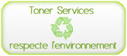Toner services respecte l'environement